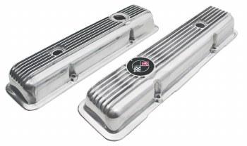 69-74 Camaro 302 Z/28 & 350 LT-1 Z/28 Finned Aluminum Valve Covers GM Tooling
