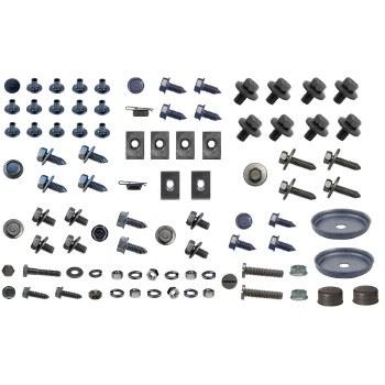 1967 Camaro Master Underhood Detailing Hardware Kit w/Std Grille 144 Pieces USA!
