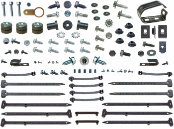 1969 Camaro Add On Underhood Detailing Kit w/RS Grille 85 Pieces USA!