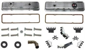 69 70 71 72 73 74 Camaro SB Z/28 Valve Cover Kit 302 Z/28 & 350 LT-1 Aluminum