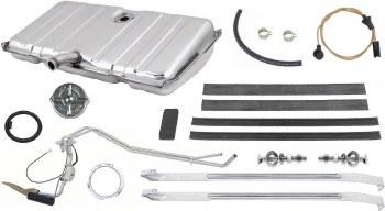 1969 Camaro & Firebird Fuel Tank Kit 3/8 & Dual Line Sender OE Quality Stainless