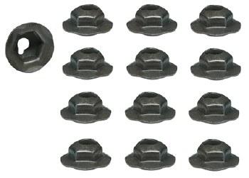 67 68 69  Camaro Front & Rear Bumper Guard Rubber Insert Hardware Kit GM# 9419842