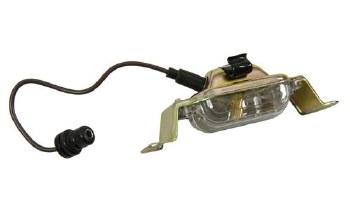 License Plate & Lamp