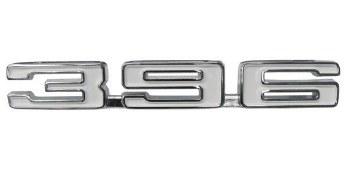 1968 Camaro 396 Front Fender Emblem Pair