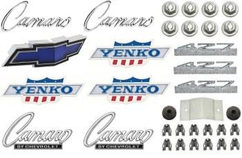 1969 Camaro 427 Yenko Emblem Kit  OE Quality!