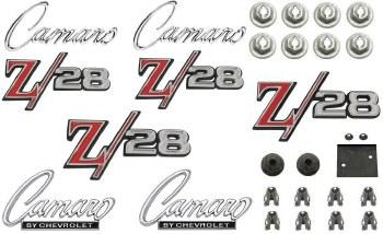 1969 Camaro Z/28 Standard Emblem Kit  OE Quality!