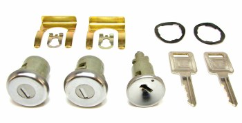Lock Set, Ignition & Door