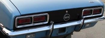 67 68 Camaro Chrome Rear Bumper Concours Quality GM Part# 3886603