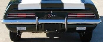 1969 Camaro Chrome Rear Bumper Concours Quality GM Part# 3927424
