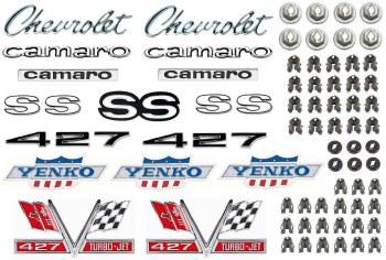 1967 Camaro Yenko 427 Emblem Kit  Concours Quality!