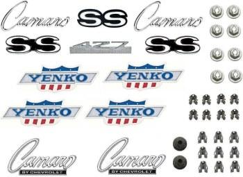 1968 Camaro 427 Yenko Emblem Kit  OE Quality!