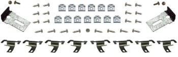 67 68 69  Camaro & Firebird Convertible Window Molding Clip Kit OE Style 46 Pcs