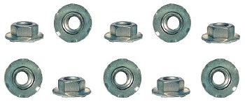 1969 Camaro Taillight Housing Nut Set 10 Piece Kit