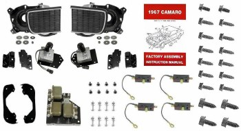 1967 Camaro Basic Rally Sport Conversion Kit OE Show Quality!