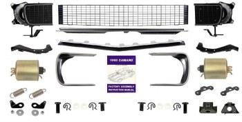 1968 Camaro Master Rally Sport Conversion Kit w/Black Grill  OE Quality!