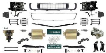 1969 Camaro Master Rally Sport Conversion Kit OE Quality!