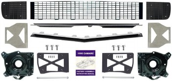 1968 Camaro Master Electric Rally Sport Conversion Kit w/Black Grille OE