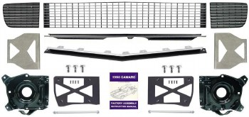 1968 Camaro Monster Electric Rally Sport Conversion Kit w/Chrome Grille OE
