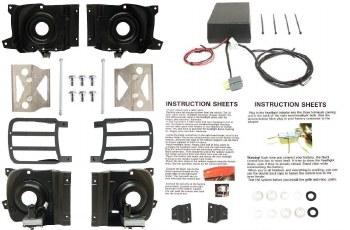 1969 Camaro Basic Electric Rally Sport Conversion Kit  OE Quality!