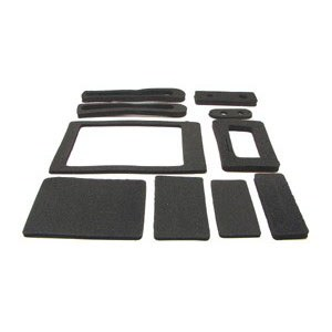 67 68 69  Camaro & Firebird Heater Box Seal Kit SB & BB All Models Exc AC