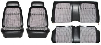 69 Houndstooth Seat Covers