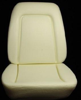 1969 Camaro Standard Interior Bucket Seat Foam Kit w/Molded Wires Inside Pair