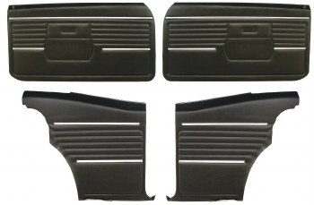 68 Coupe Door Panel Kit PAD
