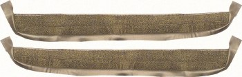 1967 Camaro & Firebird Deluxe Door Panel Carpet OE Quality!  Gold