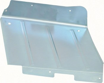 67 68 69 Camaro & Firebird Convertible Rear Inner Well Panel  LH