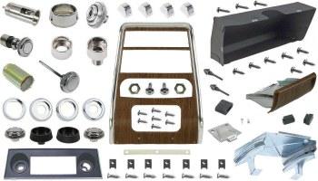 1968 Camaro Dashboard Restoration Parts Kit w/ Air Conditioning