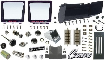 1969 Camaro Dashboard Restoration Parts Kit  No AC