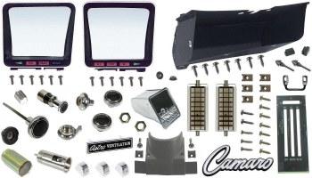 1969 Camaro Dashboard Restoration Parts Kit w/Air Conditioning
