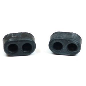 1967 Camaro & Firebird Fold Down Rear Seat Rubber Bumper Stoppers Pair