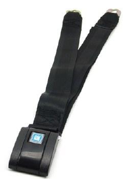67 68 69 Camaro & Firebird Standard Rear Seatbelt Set OE Style Black Each