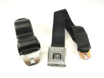 68 69 Camaro & Firebird Deluxe Front Seatbelt Set OE Style Black Each