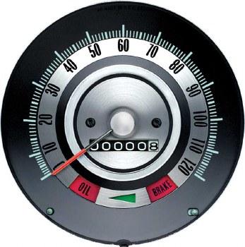 1968 Camaro 120 MPH Speedometer Head Assembly OE Quality!  GM# 6481843