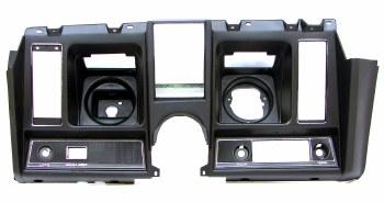 1969 Camaro Dash Cluster w/Factory Provision For Center Dash Clock & Tach Black