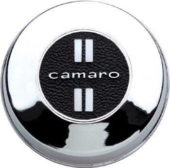1967 Camaro Horn Cap Assembly w/Chrome Finish & Camaro Insert GM# 3905583