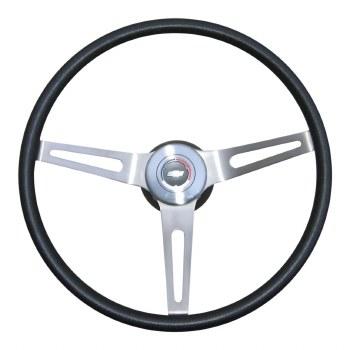 1969 Camaro Comfortgrip Steering Wheel Kit With Tilt Steering  Black