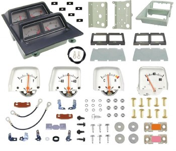 1968 1969 Camaro Console Gauge Kit Unassembled