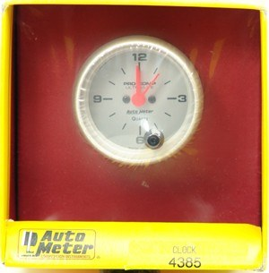 Console gauges, Autometer