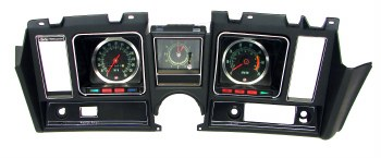 1969 Camaro Dash Cluster Assembled 5.5/7K Tach Center Dash Clock & 140 MPH Black
