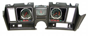 1969 Camaro Dash Cluster Assembled 6/8K Tach Center Fuel Gauge & 140 MPH Black