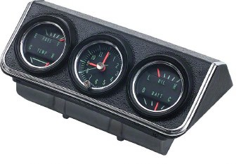 1967 Console Guages