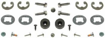 67 68 69  Camaro & Firebird Bucket Seat Restoration Hardware Kit
