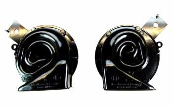 67 68 Camaro & Firebird Horns High & Low Note Exact Reproductions Pair