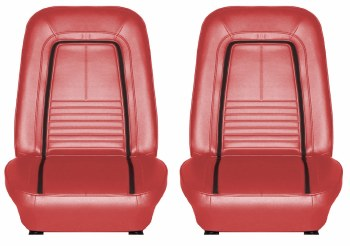 Bucket Seats, Assembled