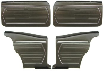 69 Coupe Door Panel Kit PED OE