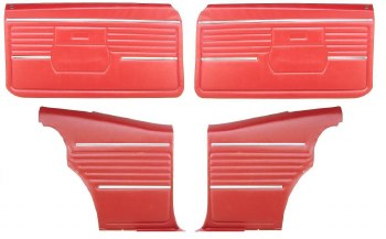 68 Coupe Door Panel Kit PED OE