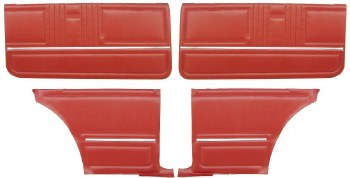 67 Coupe Door Panel Kit PAD